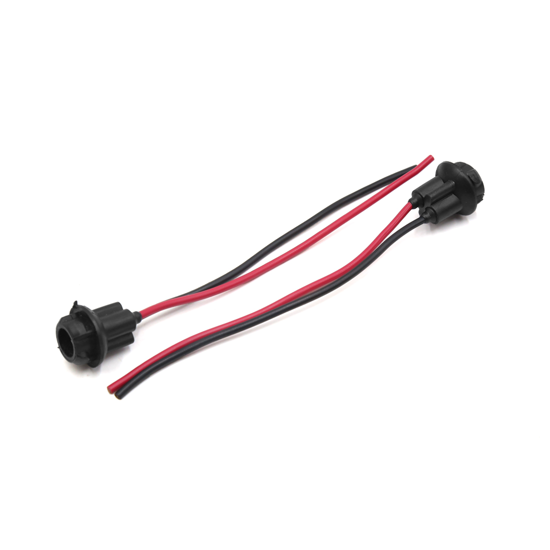hight resolution of 2 pcs t10 led light lamp bulb socket holder harness wire connector for auto car