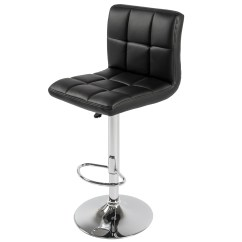 Chair Stool Black Industrial Metal Chairs Best Choice Products Set Of 2 Pu Leather Adjustable Bar Stools Counter Swivel Barstool Pub Walmart Com
