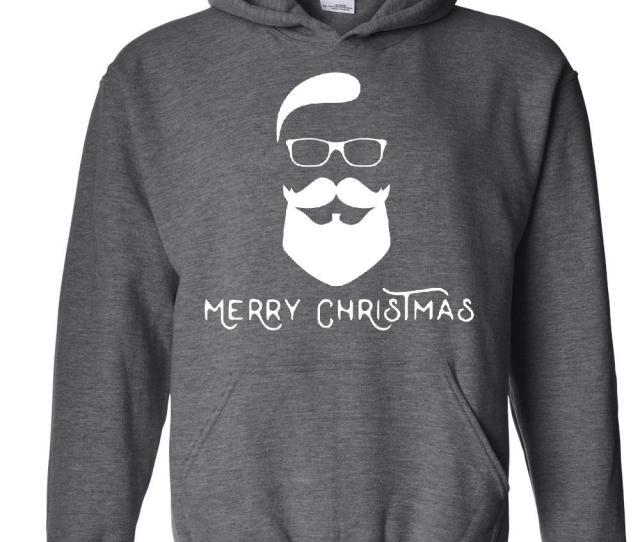 Christmas Hoodie Merry Xmas Fashion Santa Womens Hoodies Sweater Walmart Com