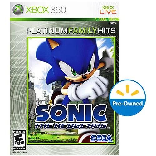 Sonic The Hedgehog Xbox 360 Walmart