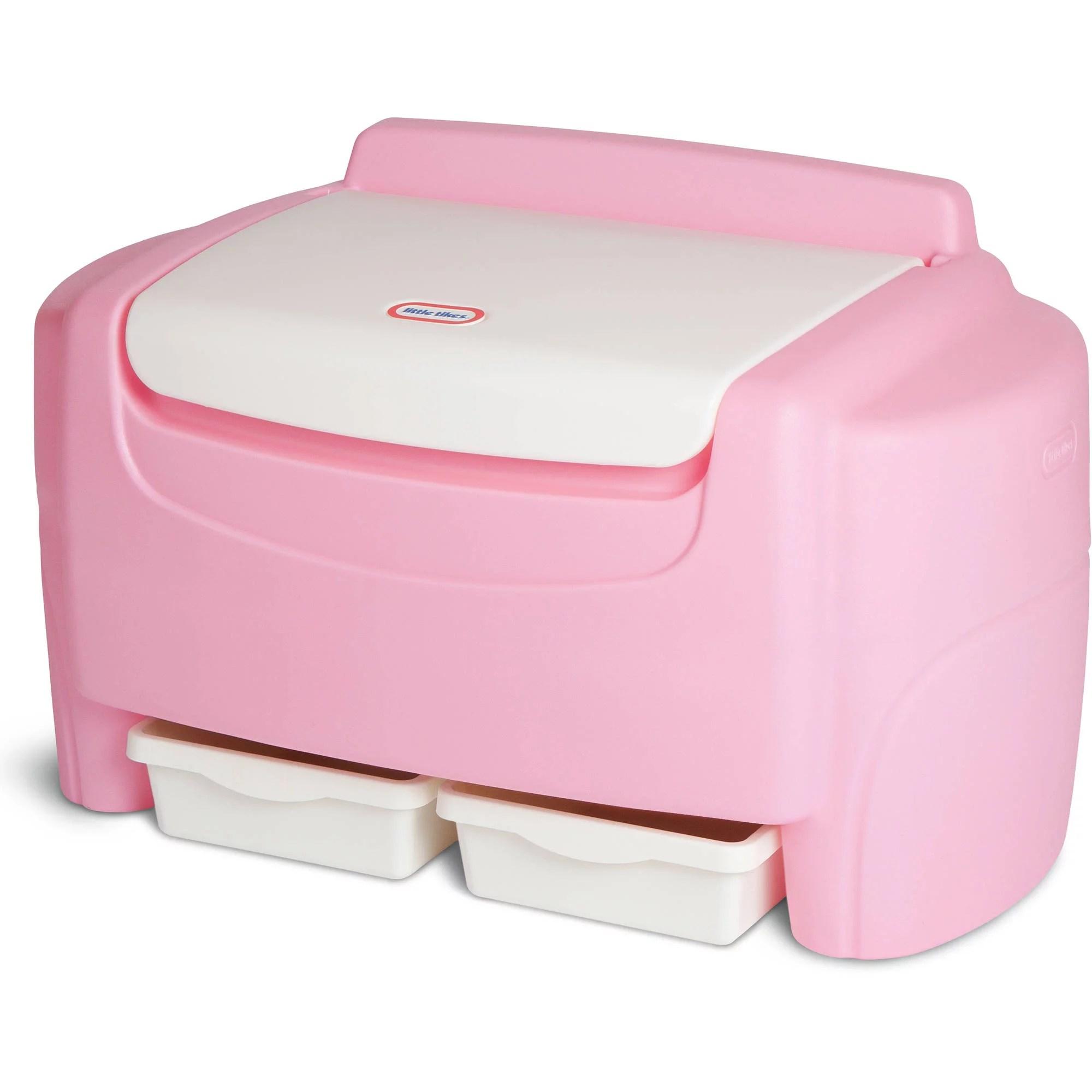 Pink Sort N Store Toy Chest Walmart