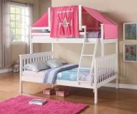 Donco Kids Donco Kids Twin Over Full Mission Bunk Bed with ...