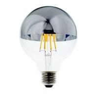 Lighting Science 100W Equivalent G25 Mirror Filament Soft ...