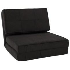 Fold Away Single Chair Bed Htt Massage Best Choice Products Convertible Sleeper Black Walmart Com