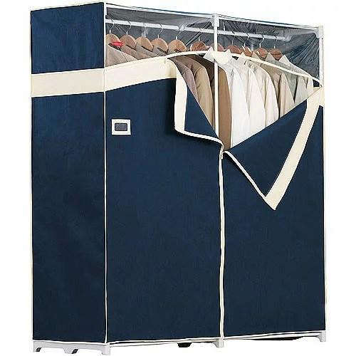 rubbermaid portable garment closet