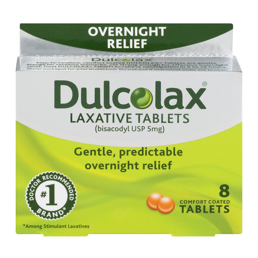 Dulcolax Laxative Tablets 8 ct - Walmart.com