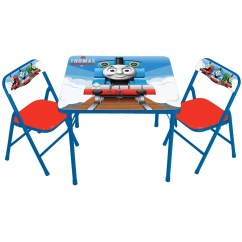 Kids Sports Chairs Plastic Outside Table And Disney Thomas The Tank Activity 2 Set Walmart Com