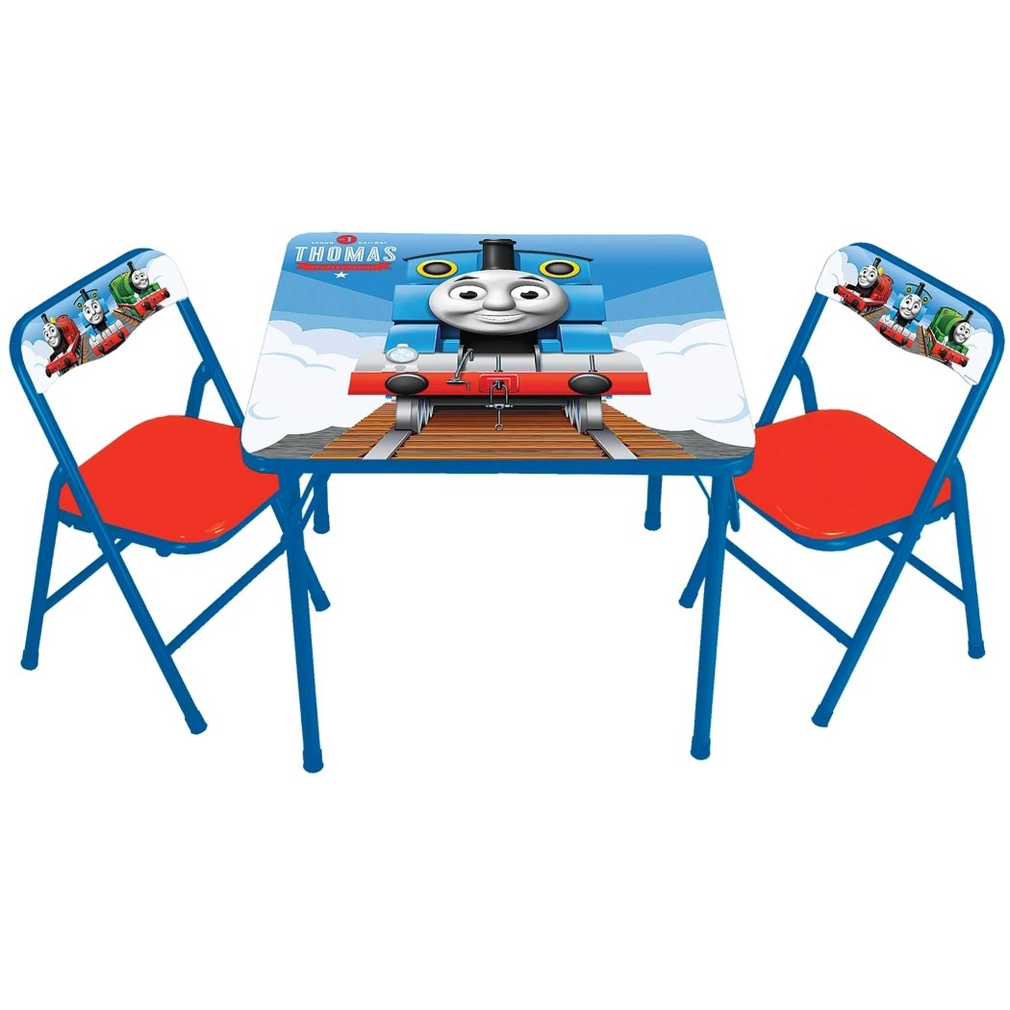 thomas the tank engine desk and chair egg garden morrisons train table chairs roselawnlutheran