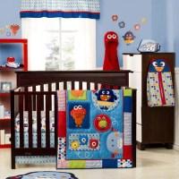 Graco Baby Monsters 3-Piece Crib Bedding Set - Walmart.com
