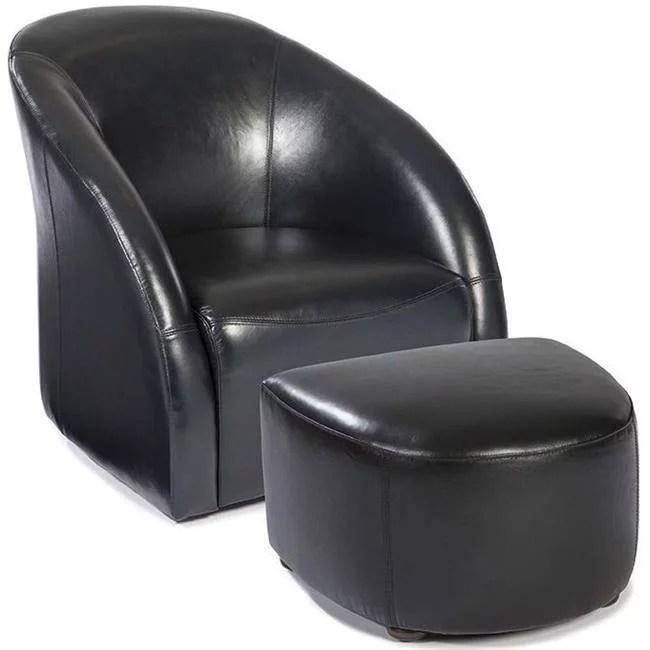 swivel chair regal revolving ahmedabad lazzaro wh c642t 10 00 9050 tub ottoman blue leather 44 black walmart com