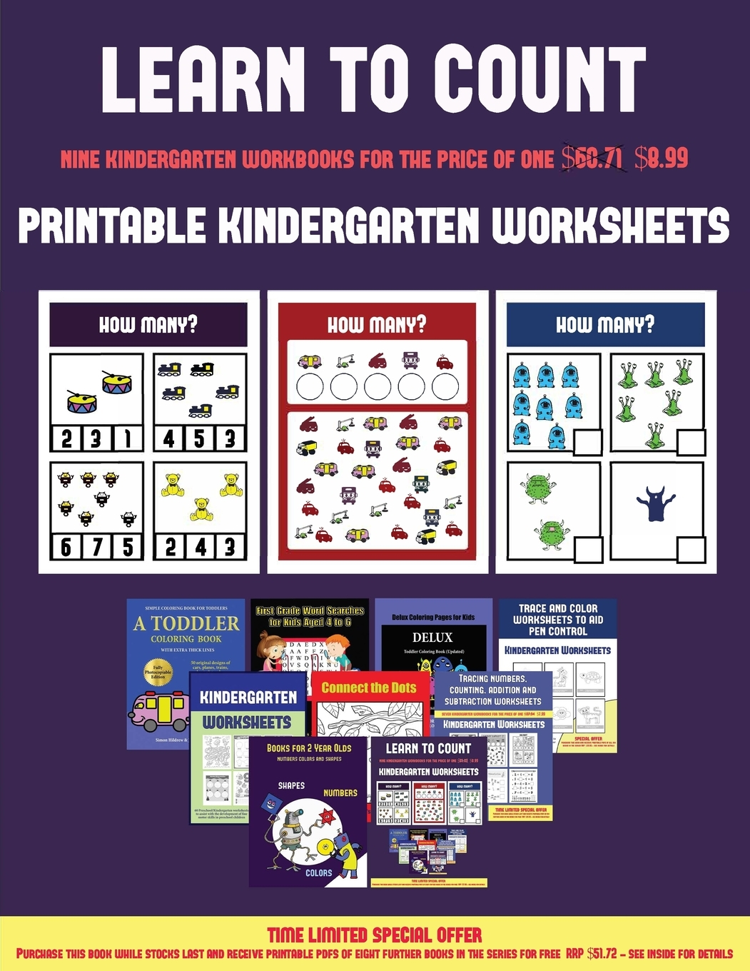 Printable Kindergarten Worksheets Printable Kindergarten