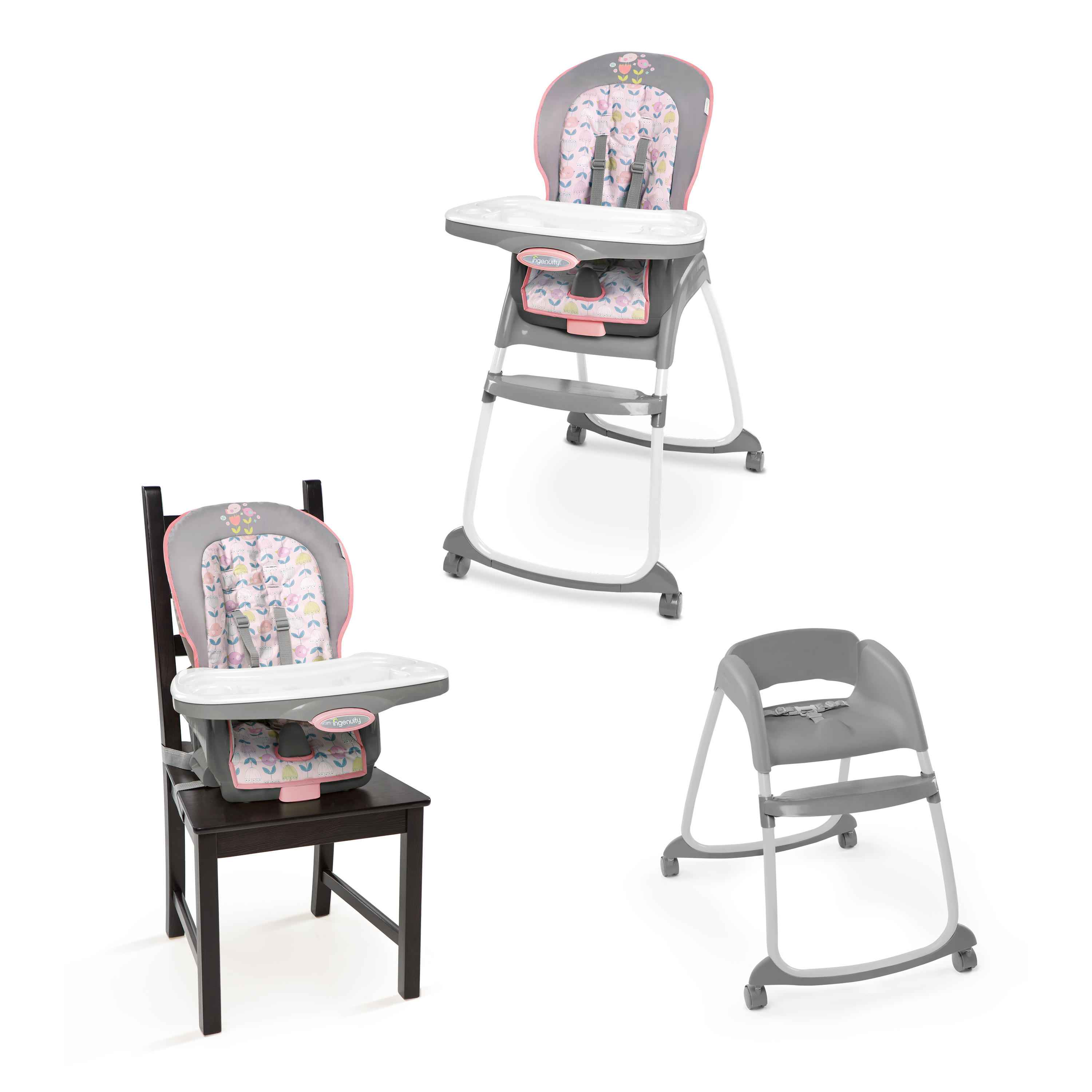 ingenuity high chair 3 in 1 cover helps you stand up trio ansley walmart com