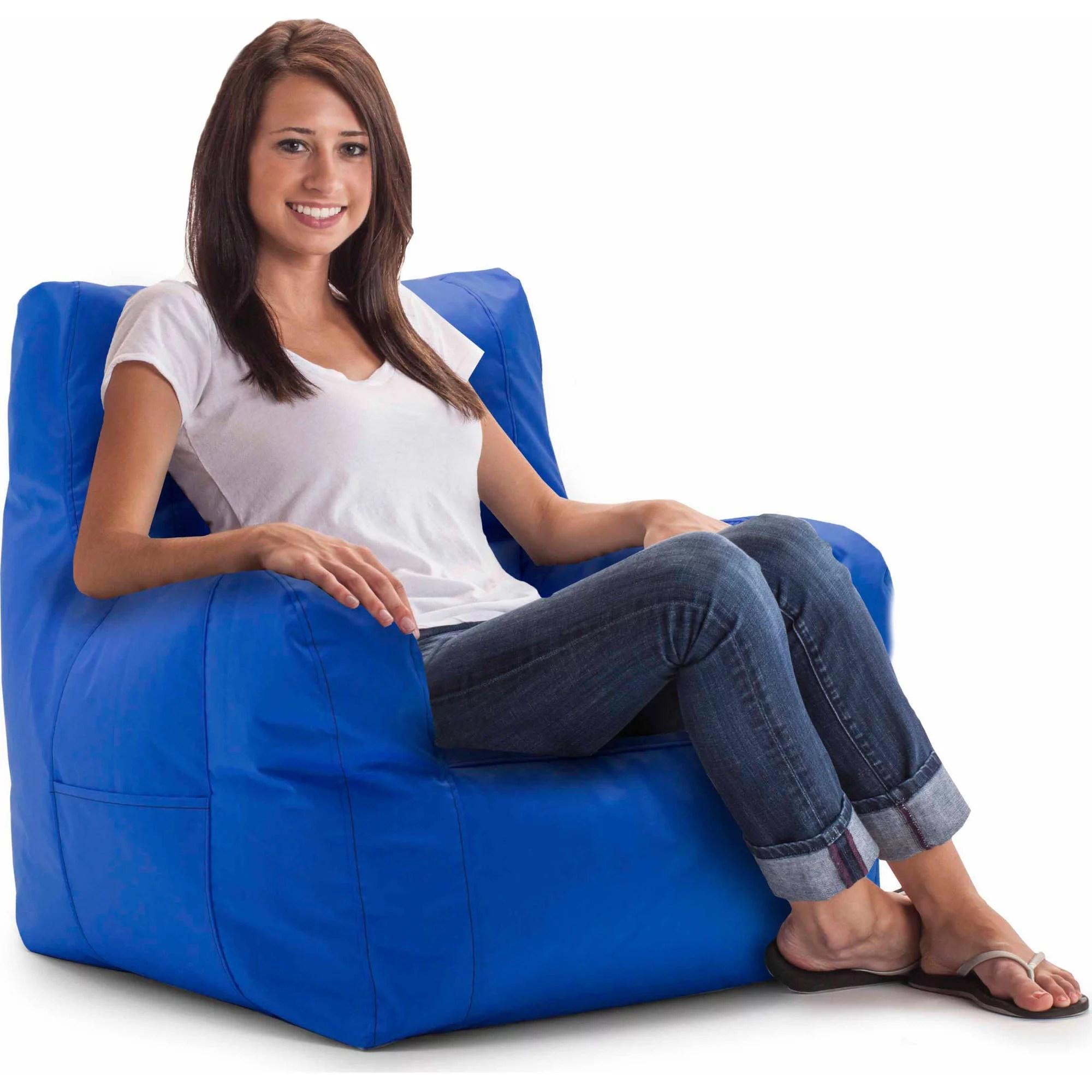 big joe bean bag chair cheap outdoor lounge chairs smartmax duo multiple colors walmart com