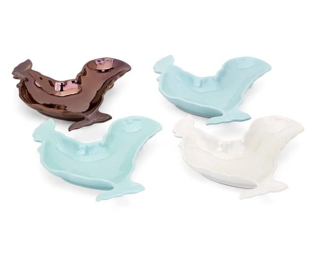 Trisha Yearwood Songbird Rooster Plates Set Of 4