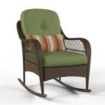 Better Homes Gardens Azalea Ridge Outdoor Rocking Chair Green Walmart Com Walmart Com