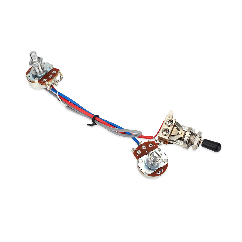 WALFRONT 3-way Prewired Switch Wiring Harness Set for