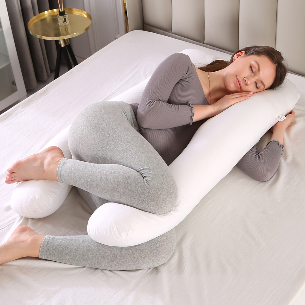 pregnancy pillow full body pillow for maternity pregnant women by topchances u shape bed pillow 6 colors white green blue pink yellow purple