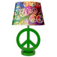 your zone peace sign lamp - Walmart.com