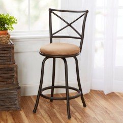 Swivel Chair Walmart Furniture Chairs Amherst Barstool Champagne