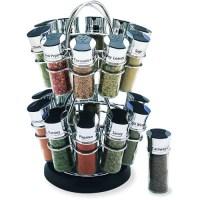 Olde Thompson 20-Jar Flower Revolving Spice Rack - Walmart.com