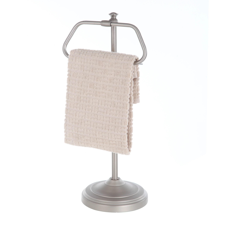 Better Homes and Garden Hand Towel Holder  Satin Nickel