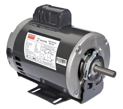 small resolution of dayton 1 hp belt drive motor capacitor start 1725 nameplate rpm 115 208 230 voltage frame 56 6k321 walmart com