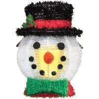 Outdoor Holiday Porch Light Covers - Set Of 2, Snowman ...