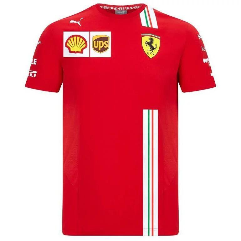 scuderia ferrari scuderia ferrari f1 2020 men s charles leclerc team t shirt red walmart com