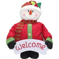 """Holiday Time 40"""" Tall Pop-Up Indoor Snowman Christmas ..."""