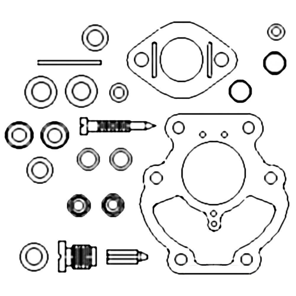 ZCK06 New Basic Carburetor Kit Made to fit Allis Chalmers