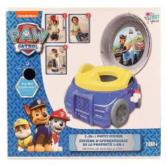 3 In 1 Potty Chair Quill Ergonomic Disney Paw Patrol Set Walmart Com
