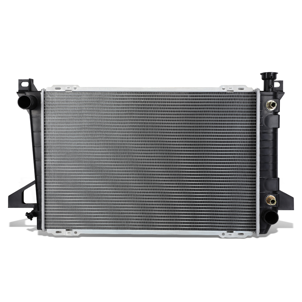 hight resolution of for 1985 1996 ford f150 f250 f350 bronco 4 9 mt at factory style full aluminum core 1452 radiator walmart com