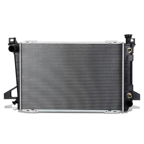small resolution of for 1985 1996 ford f150 f250 f350 bronco 4 9 mt at factory style full aluminum core 1452 radiator walmart com