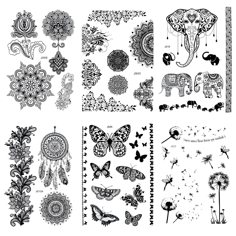 Kleine Henna Tattoos Fur Die Hand