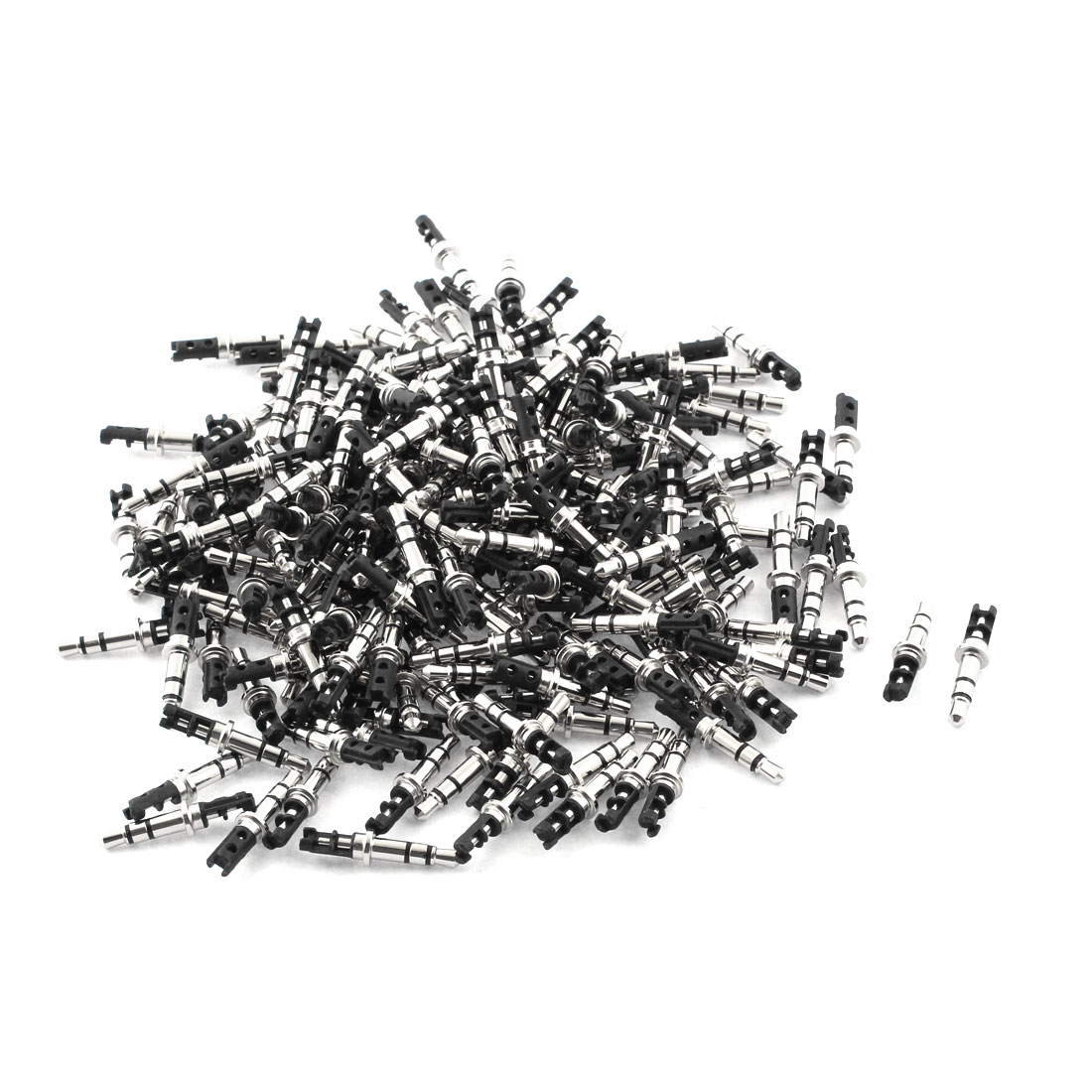 unique bargains 3 5mm stereo male plug repair audio headphone jack solder connector black 200pcs walmart canada [ 1100 x 1100 Pixel ]