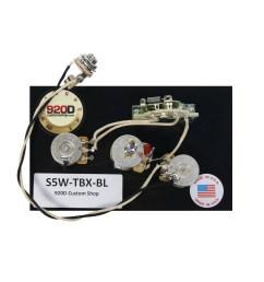 920d fender strat stratocaster wiring harness tbx and blender pot [ 1600 x 1600 Pixel ]
