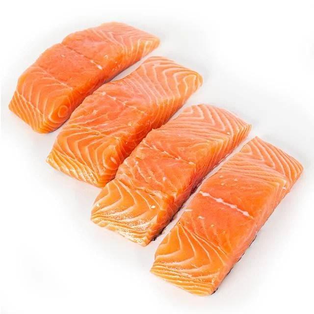 Frozen Premium Skinless Atlantic Salmon Fillets