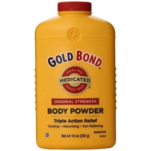 Gold Bond Body Powder Medicated 10 oz (Pack of 6 ...