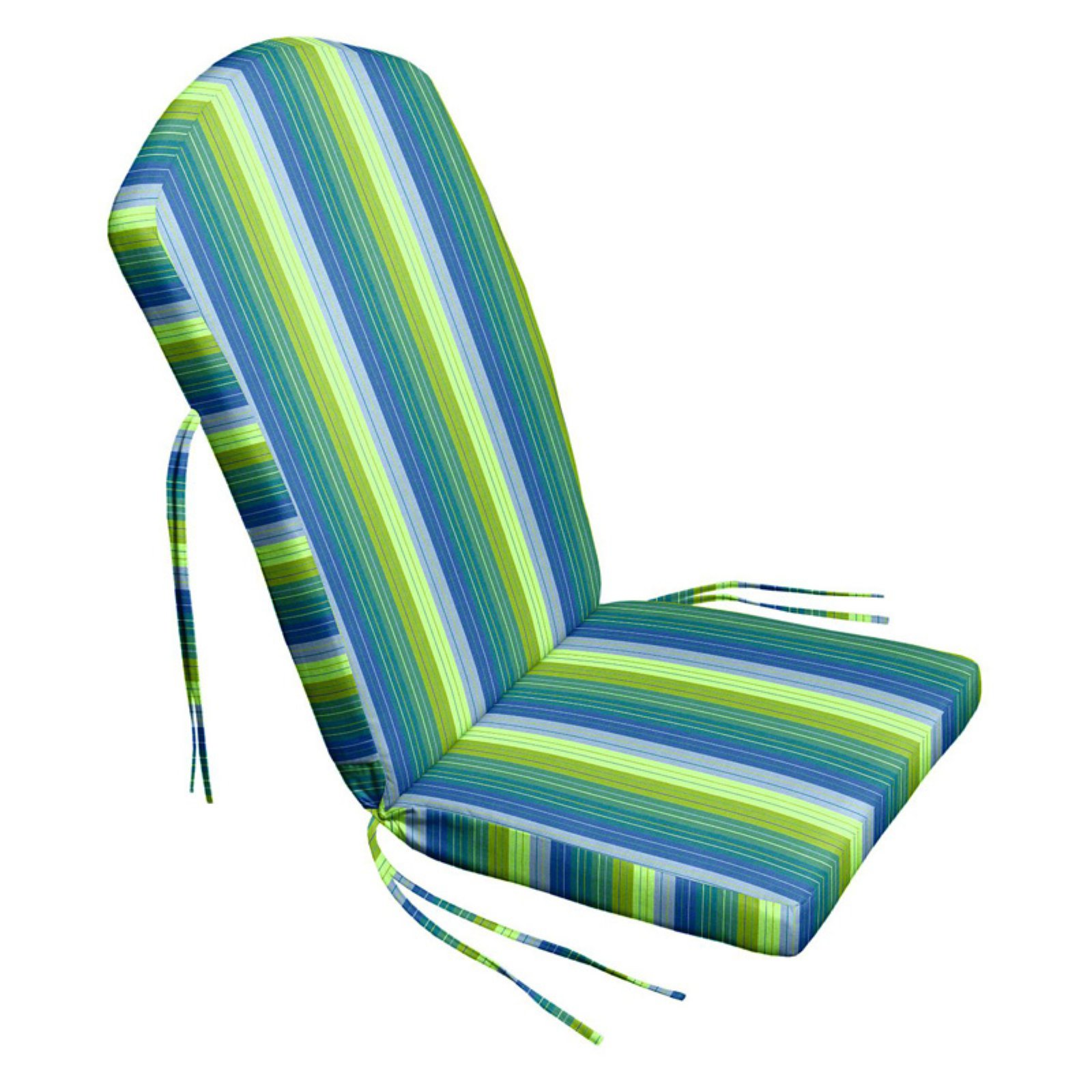 Sunbrella Adirondack Chair Cushions Cushion Source Sunbrella Striped 47 X 21 In Adirondack