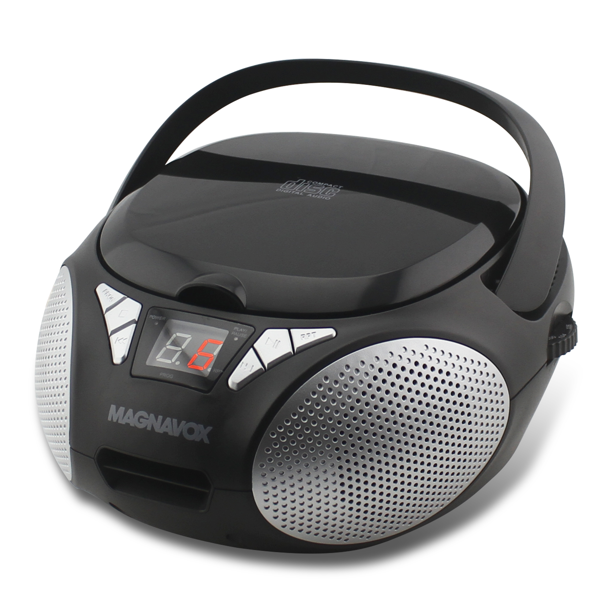magnavox cd boombox with