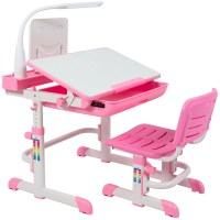 Best Choice Products Height Adjustable Children's Desk and ...
