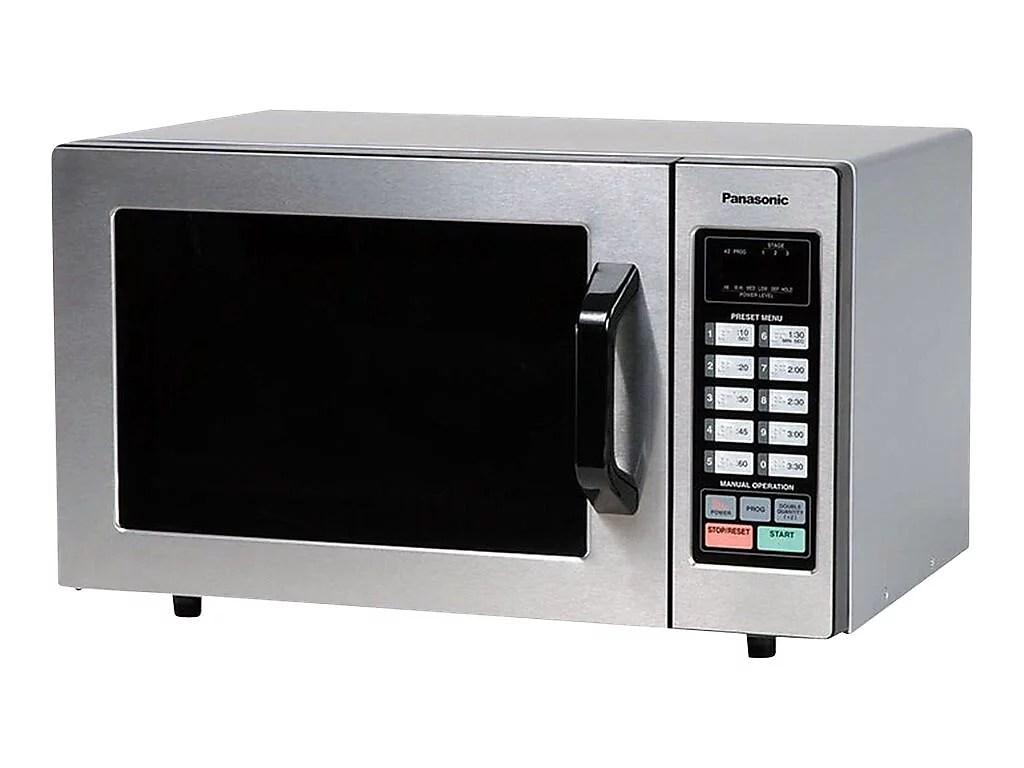 panasonic 0 8 cu ft countertop microwave stainless steel