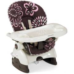 Fisher Price Spacesaver High Chair Cover How To Make Cocoa Pink Walmart Com