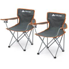 Chairs For Sleeping Outdoor Swivel Uk Camping Combo Set 22 Piece Shelter Chair Bag Pillow Ebay
