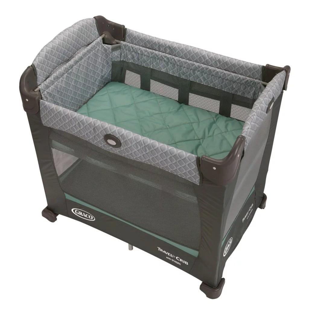Graco Travel Lite Baby Crib Portable Playard Manor Walmart Com Walmart Com
