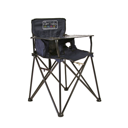 baby camping high chair armchair and ottoman ciao portable purple walmart com