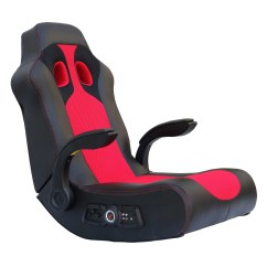 Walmart Game Chairs X Rocker Chair Graphic Design Vibe 2 1 Bluetooth Gaming Black Red 5172801