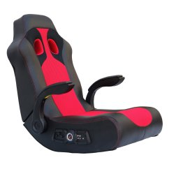 Impact X Rocker Chair Arrow Sewing Vibe 2 1 Bluetooth Gaming Black Red 5172801