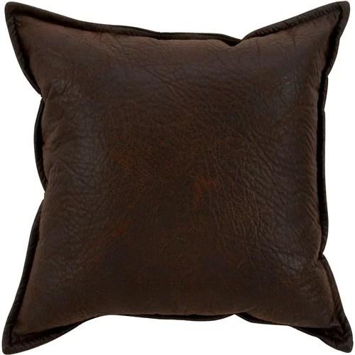 Better Homes  Gardens Faux Leather Pillow Walmartcom