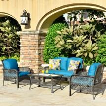 ovios 4 pcs patio furniture sets